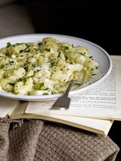 Stilton & Pear Gnocchi   Fruit Recipes   Jamie Oliver