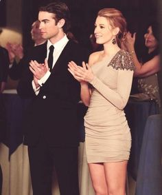 Nate Archibald, Serena Van Der Woodsen - She is positively stunning. All the time, always.