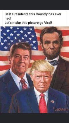 Greatest Presidents, American Presidents, Us Presidents, American Pride, American History, Trump Is My President, Trump Train, God Bless America, Donald Trump