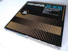 Maxell UD XL 35 - 90B пленка для магнитофона - Tallinn - Электроника, Устаревшая электроника купить и продать – okidoki
