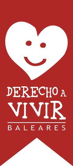 Logo Derecho a Vivir Baleares
