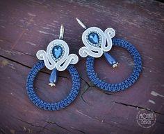 The circular earrings. Deep garnet with silver. Garnet, Washer Necklace, Deep, Earrings, Silver, Jewelry, Design, Fashion, Granada