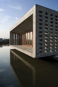 Ceramic House by Wang Shu Architecture, 2012 Pritzker Prize. Photo © Lv Hengzhong.