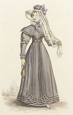 24-10-11  Walking dress ca. 1824