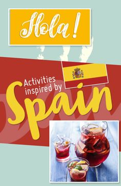 We're jetting off for a summer in Spain (we wish!) Help your little ones experience Spain from the living room with our collection of awesome activities with a Spanish inspiration. Summer Holiday Activities, Activities For Kids, Little Ones, School Stuff, Colonial, Spanish, Homeschool, Age, Living Room