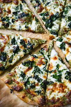 There's kale pesto and crispy kale under all that golden melted mozzarella. It's practically diet food. Click through for more kale recipes — because kale isn't going away any time soon.