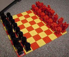 BrickPlayer » Blog Archive » Small LEGO Chess Set