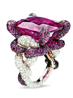 Be bold with a statement ring.
