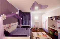 17 Awesome Purple Girls Bedroom Designs