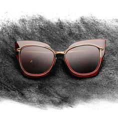 Eyewear as art // The STORMY cat-eye sunglasses by DITA Eyewear