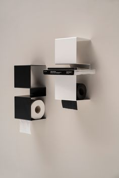 Stainless steel toilet roll holder INTEAM - @extdesign