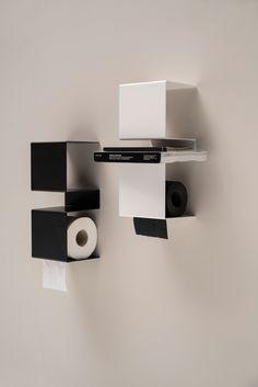 Stainless steel toilet roll holder INTEAM - @extdesign