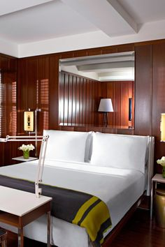 Deluxe Queen rooms have courtyard or river views. #Jetsetter