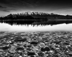 Post with 109 views. The Remarkables (mountains) in Queenstown, New Zealand [OC] Lake Wakatipu, Mountain Pictures, Hdr Photography, Photography Wallpapers, Mountain Tattoo, Photo B, Pretty Pictures, The Rock, Black And White Photography