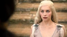 Status: Princess, Daughter of (Deceased) King Aerys II In the first season of Game of Thrones, Daenerys is a child bride, pledged to the fierce Khal Drogo by her brother, Viserys, in exchange for an army. She's meek and unsure of herself, but slowly blossoms as Khaleesi, queen of the Dothraki.
