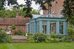 Another beautiful orangery from Vale Garden Houses.