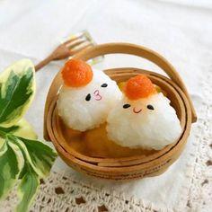 見た目の癒しが主役級♡「こにぎり」で作ったお弁当・ご飯特集!
