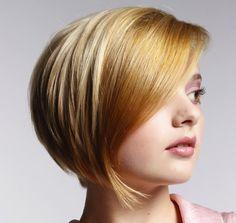 Short Straight Haircut for Women