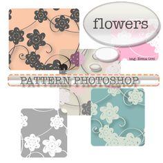 Photoshop Patterns: floreali
