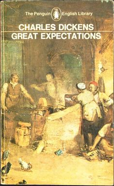 Series No.: EL 3   Title: GREAT EXPECTATIONS   Author: Charles Dickens   Edited: by Angus Calder   Cover illustration: shows a detail from the painting 'A Country Blacksmith disputing upon the Price of Iron' by J. M. Turner (Tate Gallery); photograph Rodney Todd-White   Date Published: September 1965   Pages: 512pp.   Printer: Richard Clay (The Chaucer Press) Ltd   Price: 6/-