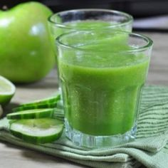 Anti-Insomnia Juice: 1 cucumber, 1 in of ginger root, 1 lemon, 1 green apple, 9 asparagus stalks. This will help you feel more energized. Juice Smoothie, Smoothie Drinks, Smoothie Recipes, Juice 2, Apple Juice, Healthy Juices, Healthy Smoothies, Healthy Drinks, Yummy Drinks