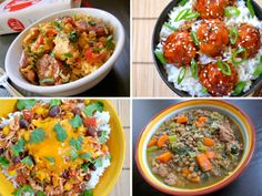 """★★★★ I think I've just found a new favorite food blog! In this recent blog, Beth M of """"Budget Bytes"""" presents us with 10 easy to prepare, freezer friendly foods you can make ahead of time in """"Top 10 Freezer Meals."""" - Enjoy!♥"""