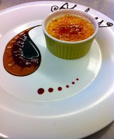 Plating Cremebrulee | Another doable dessert presentation