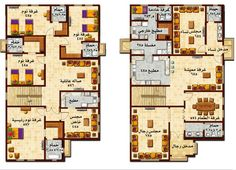 Model House Plan, New House Plans, House Floor Plans, House Map, Duplex House, My House, Villa Design, House Design, Duplex Plans