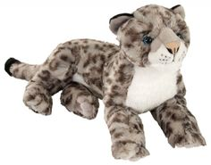 Snow Leopard Cuddlekins (Large) at theBIGzoo.com, a toy store featuring 3,000+ stuffed animals.