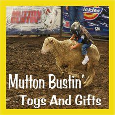 mutton bustin' toys