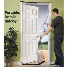 Easy and fast DIY screen door for apartments & home rentals! | Great ...