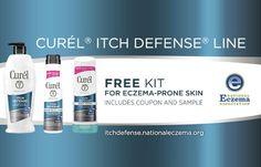Fill out the form to get a Free Curel Itch Defense Sample Kit. Allow about 6-8 weeks for delivery. Please