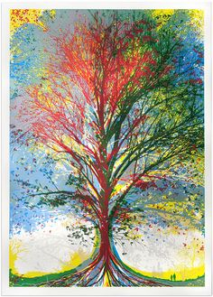 Buy affordable art from today's most exciting artists. Browse our latest collection of contemporary paintings, prints & photography. Tree Of Life Images, Tree Of Life Artwork, Original Artwork, Original Paintings, Tree Paintings, Alcohol Ink Art, Silk Screen Printing, Affordable Art, Hanging Art