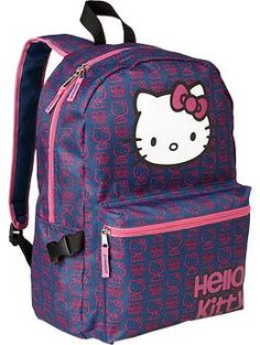 e4cc64362cc Girls Hello Kitty® Backpacks. Maybe. Goes with Navy bottom  amp  Pink top