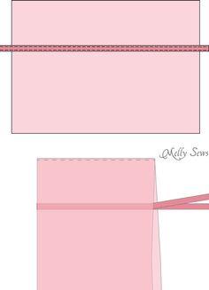 How to make a fairy princess cape - Easy DIY tutorial by Melly Sews