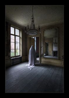 Loneliness of a ghost | by Bousure
