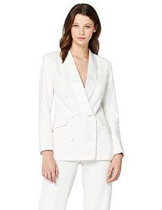 83105af22b43 Urban GoCo Mujeres Blazers Chaqueta de Traje Slim Fit Elegante ...