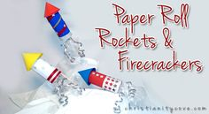 Fire rockets and fireworks are a huge part of celebrating past battles won. They also work well to remind children that celebrations mean great sacrifices have been made…and that God often helps us to work hard and earn our right to celebrate!