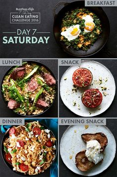 Day 7 Of BuzzFeed's 7-Day Clean Eating Challenge