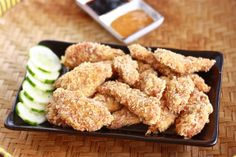 Crunchy chicken tenders (Japanese chicken katsu) by Season with Spice