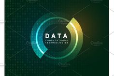 Big data visualization by Modern vector o… Holographic technological infographic. Big data visualization by Modern vector on Creative Market Pencil Illustration, Graphic Illustration, Illustrations, Business Brochure, Business Card Logo, Big Data Visualization, Holographic Background, Script Type, Paint Markers