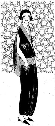 Les Modes de la Femme de France - 1923 - Illustrations by Seraph