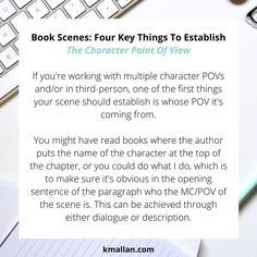 The Character POV. Taken from the #blog post, Book Scenes: Four Key Things To Establish. #wednesdaywisdom #writers #writingcommunity #writingtruths #writingtips #writersofinstagram #authorsofinstagram #writerscafe #writingproblems #writingadvice #POV #pointofview #characters Writing Problems, Writing Outline, Wednesday Wisdom, Writing Advice, Planner Organization, Point Of View, Sentences, Books To Read, Things To Come