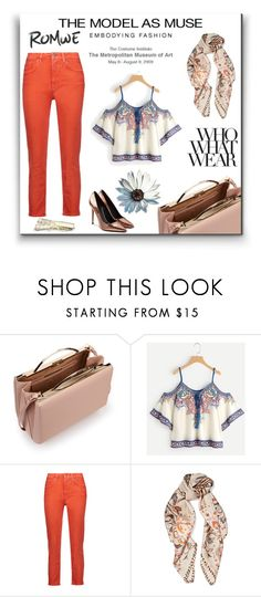 """""""Romwe"""" by kekak-1 ❤ liked on Polyvore featuring Eddie Borgo, Acne Studios, Roberto Cavalli, Alexander Wang and Who What Wear"""