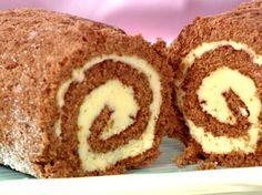 Drömtårta - rulltårta med smörkräm - recept