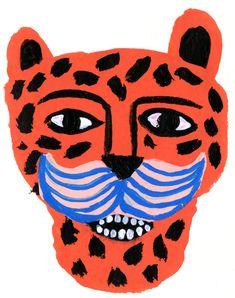 Leo Pard von Tigersheepfriends auf Etsy
