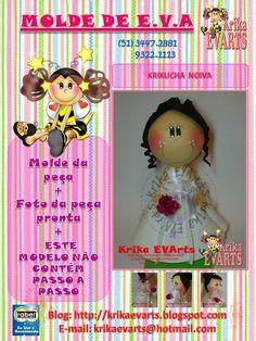 fun foam bride doll...photos/patterns