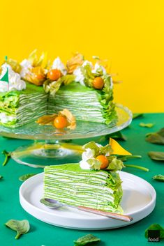 Matcha Cake, Crepes And Waffles, Good Food, Yummy Food, Savoury Cake, Avocado Toast, Catering, Sweet Tooth, Food And Drink