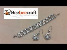 Disability Help, Beaded Bracelets Tutorial, Diy Tutorial, Tutorials, Personalized Items, Beads, Youtube, Silver, Jewelry