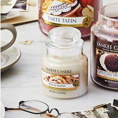 """Las velas Yankee Candle están elaboradas con parafina e ingredientes de la mejor calidad que ofrecen aromas """"reales como la vida misma"""". ¡Velas que abren el apetito!"""